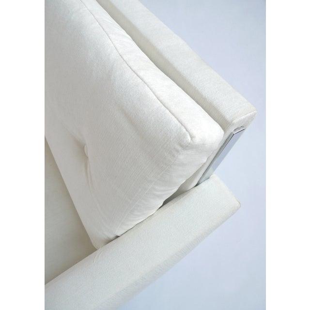 White Danish Modern Sofa by Johannes Andersen - Image 6 of 10