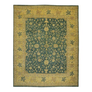 Transitional Oushak Style Rug with Modern Design, 14'03 X 17'10 For Sale