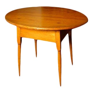 Late 18th Century American Maple Tavern Table