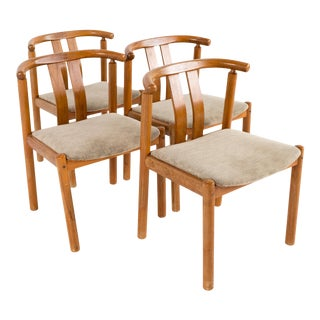Mid Century Boltinge Stolefabrik Danish Teak Dining Chairs - Set of 2 For Sale