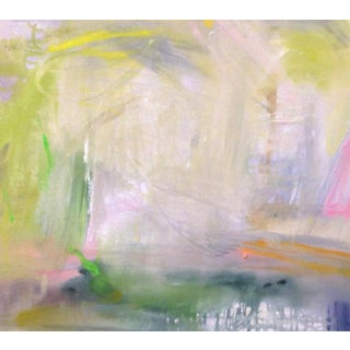 """Misty Morning"" by Trixie Pitts Abstract Expressionist Painting Preview"