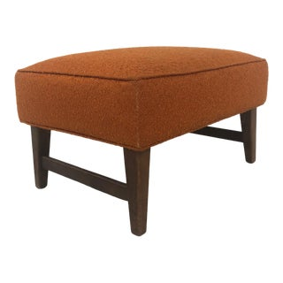 Mid Century Modern Footstool For Sale