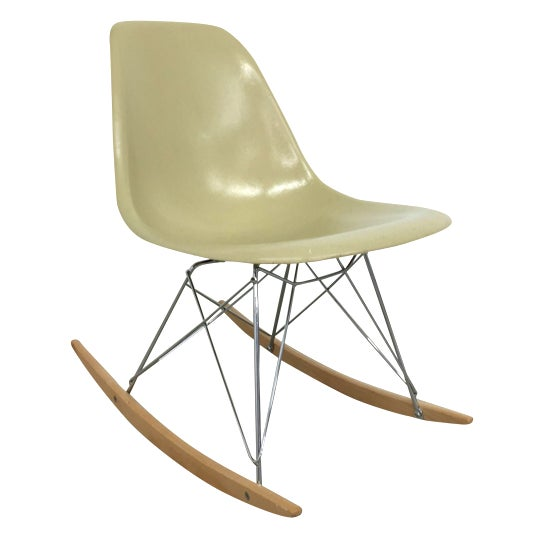 Eames Side Shell Rocking Chair - Image 1 of 8
