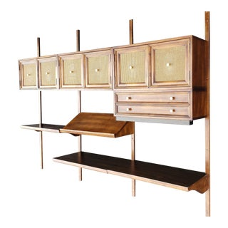 1960s Mid Century Wall Unit / Floating Display For Sale
