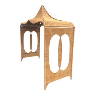 Architectural Rattan Canopy For Sale