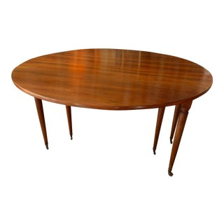 Walnut Epoch Directoire Dining Table For Sale