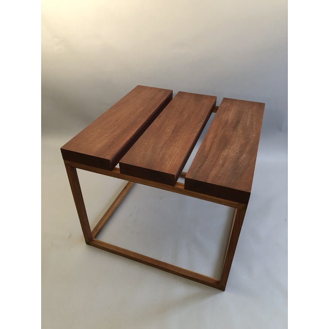 Robert Bristow 3 Block Table For Sale - Image 4 of 9