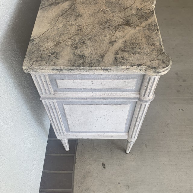 20th Century French Painted Commode For Sale - Image 4 of 13