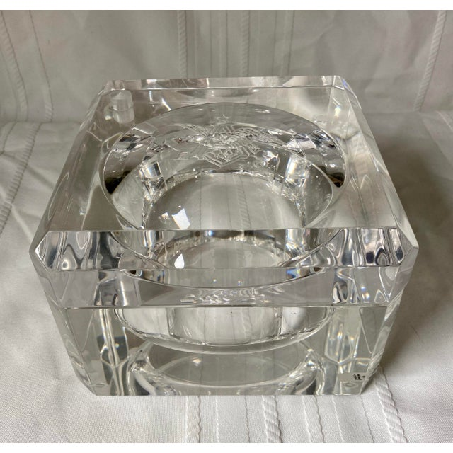 American 1960s Vintage Peter Alan Designs Anheuser Busch Lucite Candy Dish For Sale - Image 3 of 11