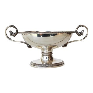 19th Century Antique Sterling Silver Cup For Sale
