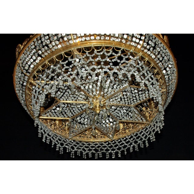 Antique Chandelier. Empire Style Chandelier - Image 3 of 7