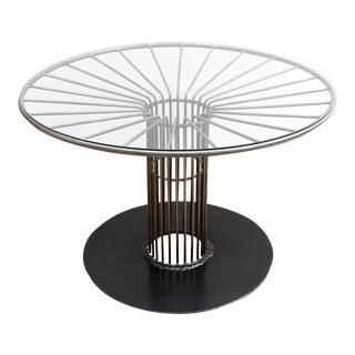 Modernist/ Industrial Welded Steel Table
