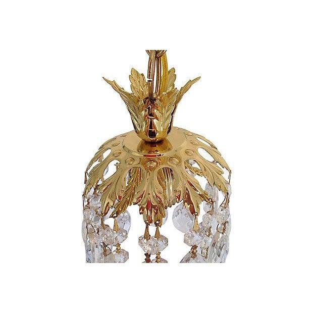 Schonbek Crystal Pendants - Pair - Image 5 of 7
