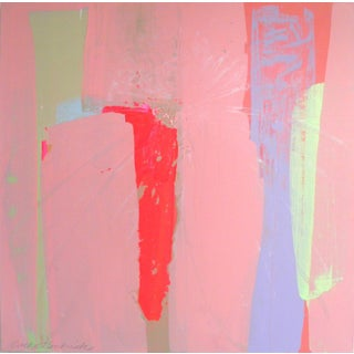 """""""Blush 1"""" Contemporary Painting For Sale"""