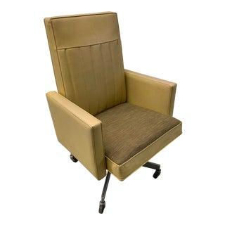 Steelcase Mid Century Modern Swivel Tilt Desk Chair For Sale