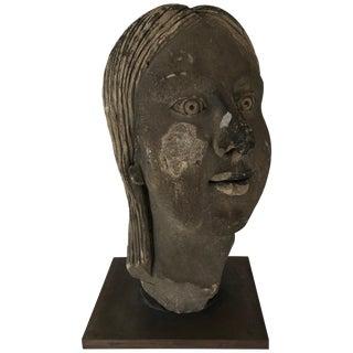 Art Deco Portrait Bust For Sale