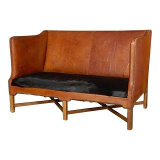 Kaare Klint Brown Sofa For Sale