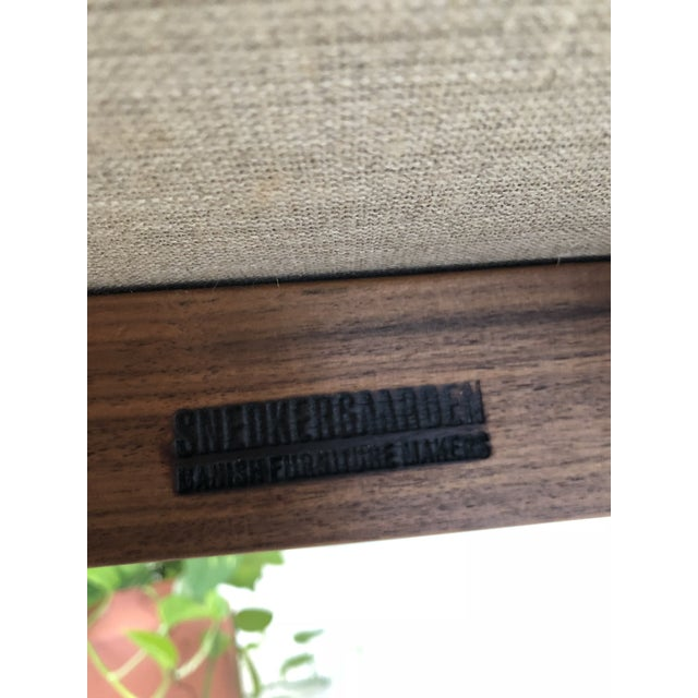 Mid-Century Danish Nanna Ditzel for Snedkergaarden Shell Sofa For Sale In Miami - Image 6 of 9