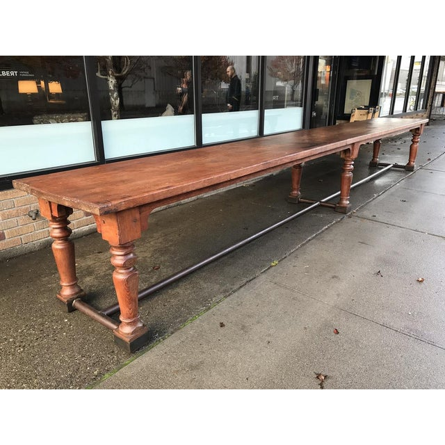 19th Century Fir Dining Table - Image 6 of 6