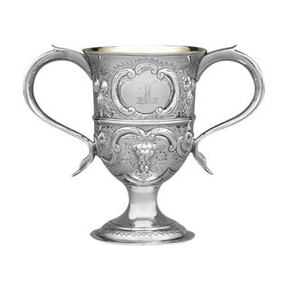 Georgian Loving Cup by Hester Bateman For Sale