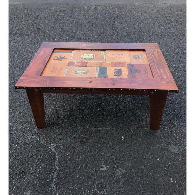 Cigar Box Coffee Table - Image 3 of 11