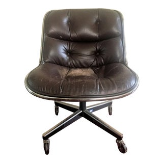 1970s Vintage Charles Pollack for Knoll Executive Chair For Sale