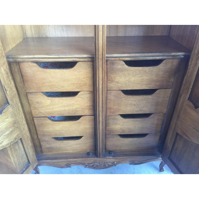 French Provincial Thomasville Armoire French Provincial For Sale - Image 3 of 8