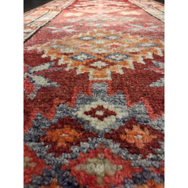 "Bellwether Rugs Vintage Turkish Oushak Runner - 2'9"" X 11'4"" - Image 11 of 11"