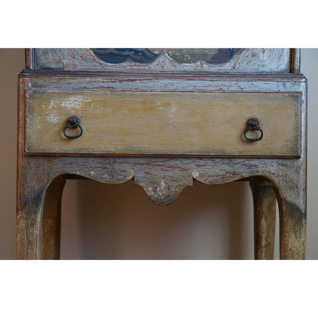 Early 20th Century English Chinoiserie Secretary For Sale - Image 4 of 9