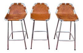 Image of Newly Made Mid-Century Modern Bar Stools