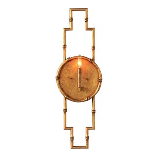 "Baldwin Gold Sconce 30""h For Sale"