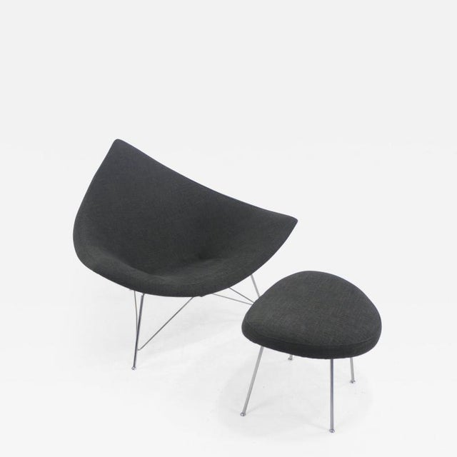 Early Edition Coconut Chair & Ottoman by George Nelson for Herman Miller For Sale In Portland, OR - Image 6 of 6