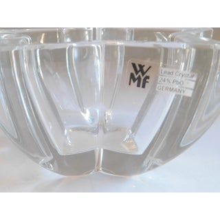 Wmf Germany Vintage Crystal Nut, Ring, Candy Dish Preview