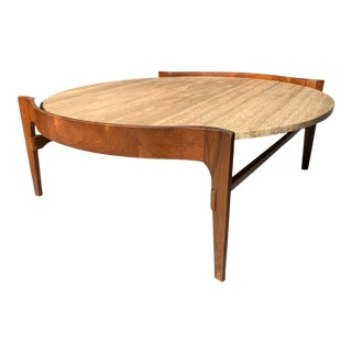 1960's Bertha Schaefer Midcentury Coffee Table For Sale