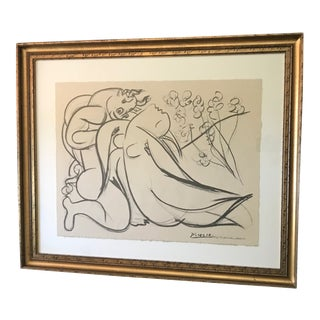 "Modern Lithograph, ""Minotaure Et Nue"" by Picasso For Sale"