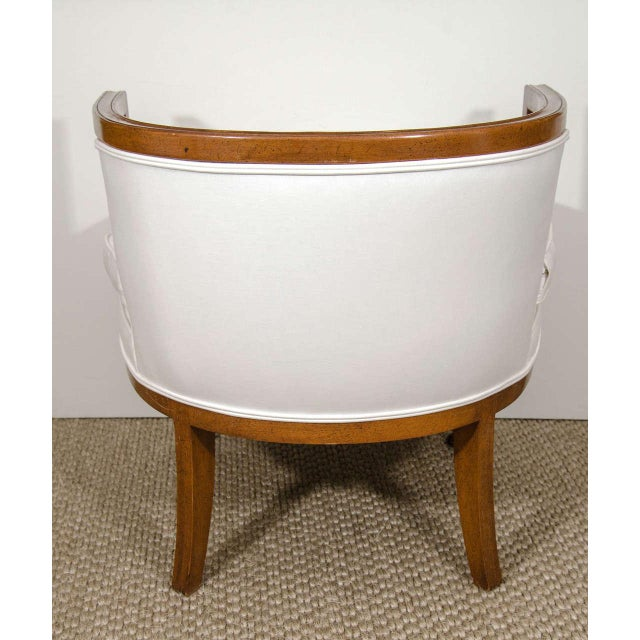 Vintage Barrel Back Chair - Image 6 of 7
