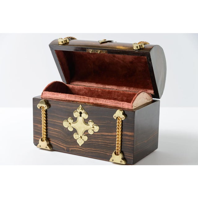 Mid 19th Century Coromande Wood Box For Sale - Image 5 of 8