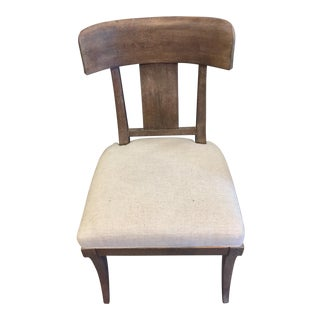 Thomasville Linen Color Dining Chair For Sale