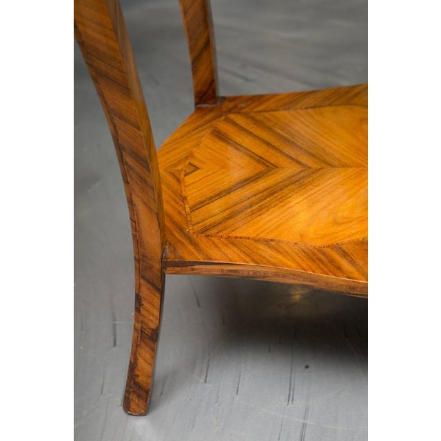 Late 19th Century 19th Century, Louis XV Style Kingwood Two-Tier Occasional Table For Sale - Image 5 of 7
