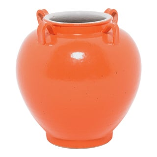 Chinese Modern Orange Rope Jar For Sale
