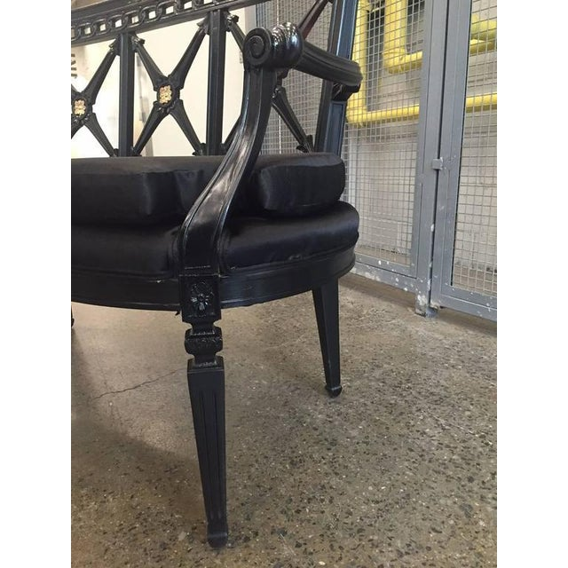 Two Louis XIV Style Loveseats For Sale In New York - Image 6 of 9