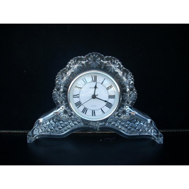 Traditional Glass Mantle Clock - Image 5 of 5