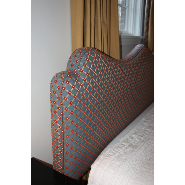 Custom Brunschwig & Fils Headboard - Image 6 of 9