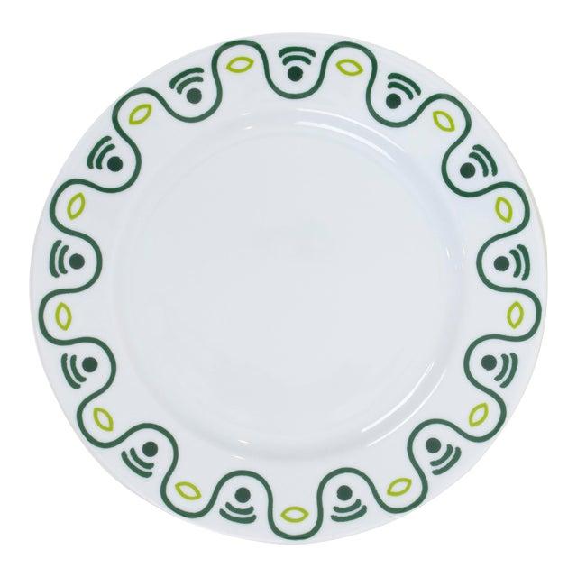 Mally Skok Robberg Side Plate, Green For Sale
