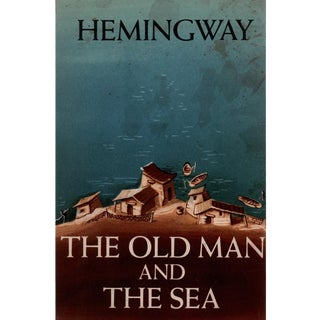 "1956 ""The Old Man and The Sea"" Collectible Book For Sale"