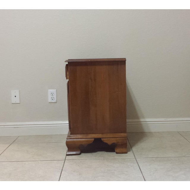 Ethan Allen Traditional Style Nightstand - Image 6 of 9