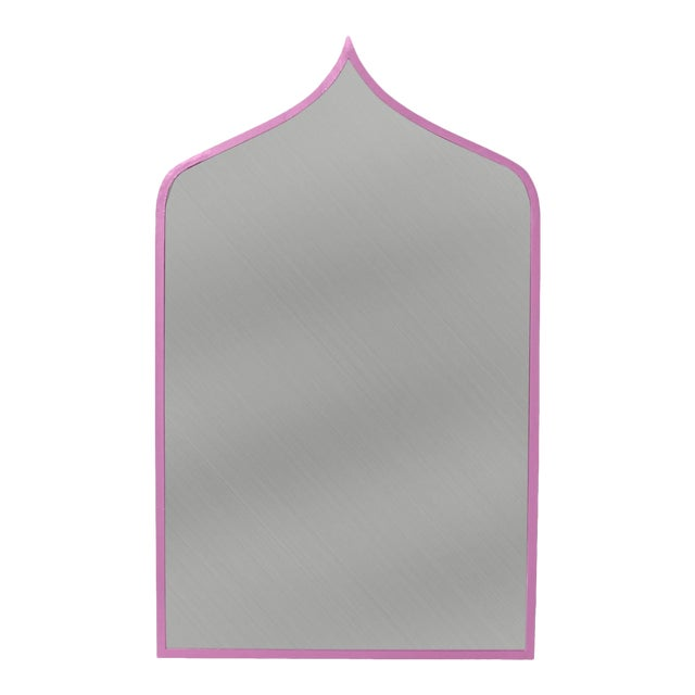 Stray Dog Designs for Chairish Marrakesh Mirror, Violet For Sale