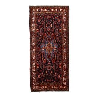 Vintage Persian Nahavand Rug 4'10'' X 10'9'' For Sale