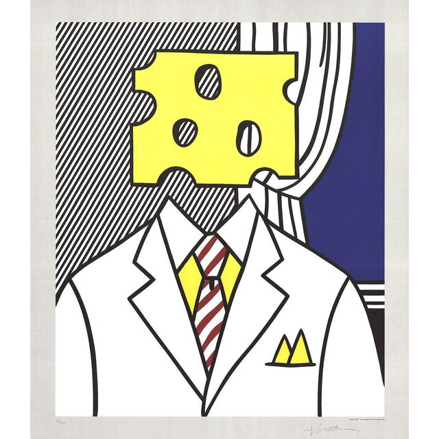 1982 Roy Lichtenstein Jobs Not Cheese! Print For Sale