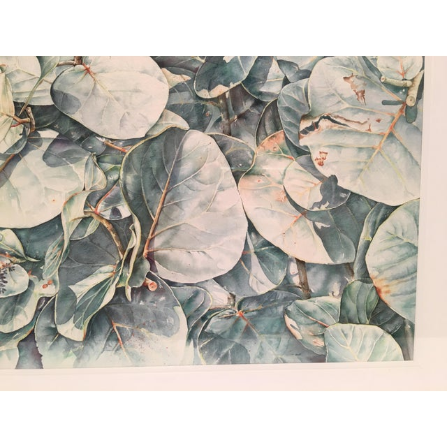 Original Framed Watercolor Painting by Anna Chen For Sale - Image 9 of 9